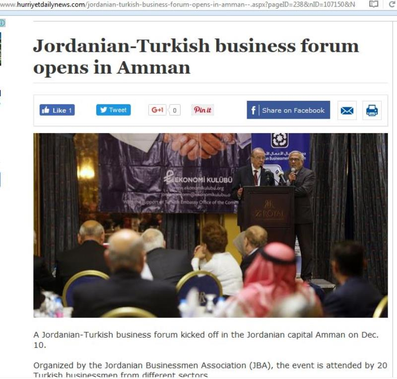 Jordanian Business Forum